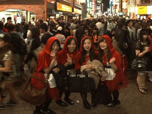 Halloween Night in SHIBUYA 2014のVR制作実績